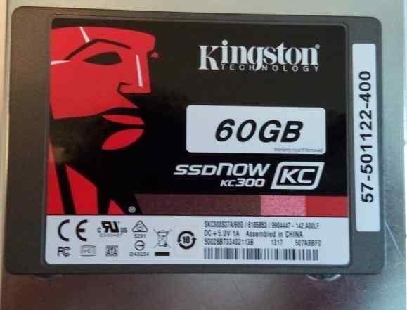 Kingston ssd NOW KC300 60Gb