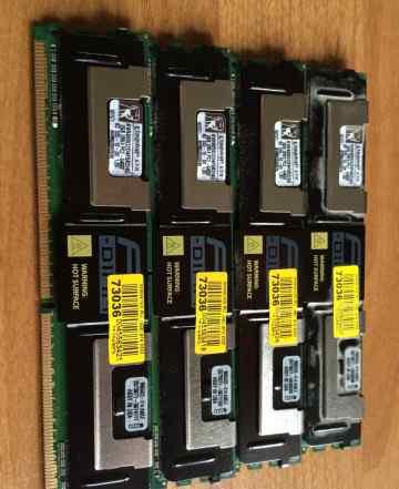 Память FB-dimm DDR2 4x 2Gb