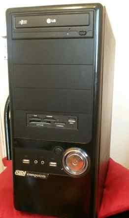 Системный блок MS 7680 и монитор Samsung