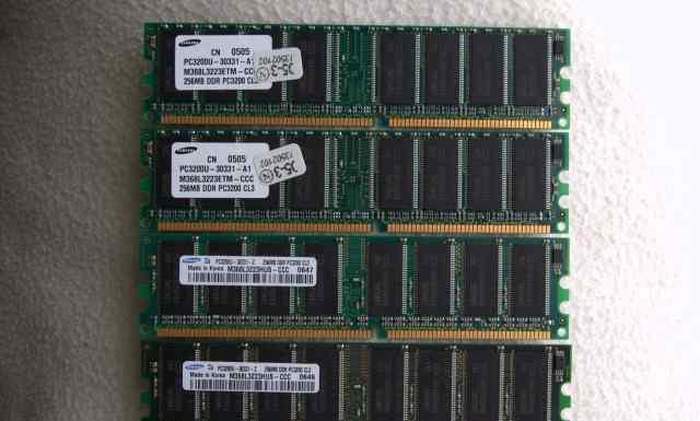 Samsung DDR PC3200 256M