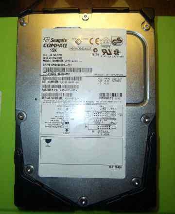 Жесткие диски scsi (7 штук) -1Гб, 18Гб, 36Гб, 72Гб