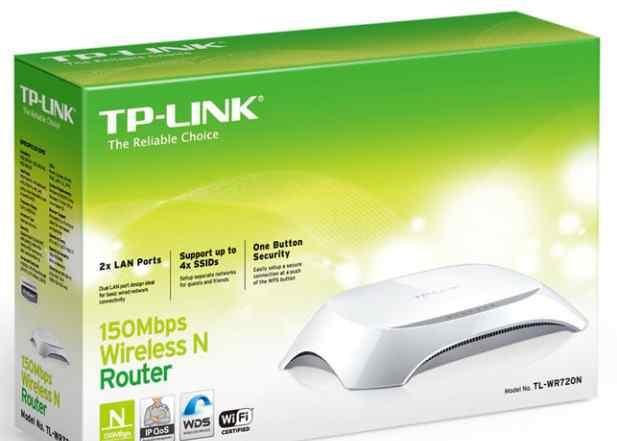 Беспроводной маршрутизатор TP-Link TL-WR720N