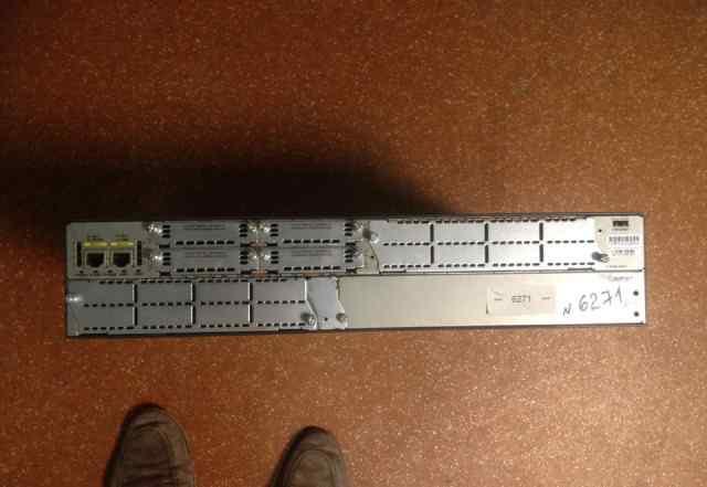 Маршрутизатор Cisco 2821 dram 512Mb