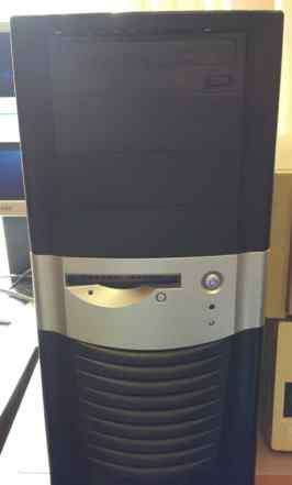 Системный блок Core i3 с монитором