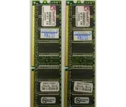 Память Kingston DDR256MB PC3200 KVR400X64C3AK2/512