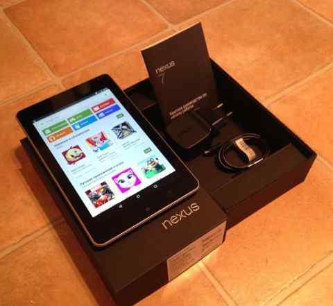 Asus Nexus 7C, 32 GB, 2012 год б/у