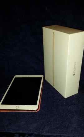 Новый iPad 3 mini gold + чехол + защитная пленка