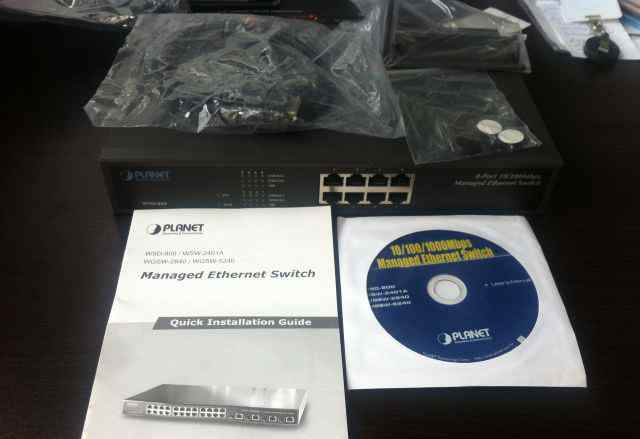 Planet Ethernet Switch WSD-800