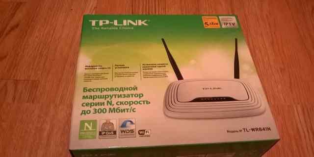 Новый Роутер, Маршрутизатор TP Link TL-WR841N