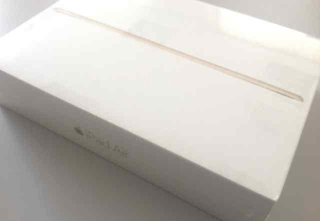 iPad Air 2 64GB gold + кожаный чехол