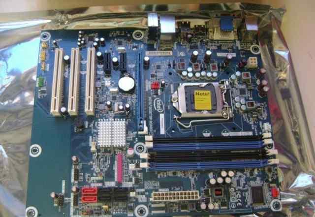 Набор мат. плата Intel H55(сок. 1156) и проц. i5