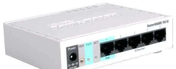 Роутер Mikrotik RouterBoard 750GL