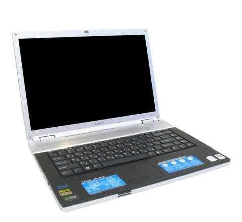 Ноутбук б. у. Sony vaio VGN-FZ31MR в рабочем сос-и