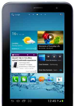 Планшет Samsung galaxytab 2 GT P3100 16 GB flash