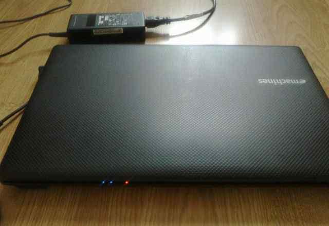 Новый 2-х ядерный ноутбук eMachines с камерой