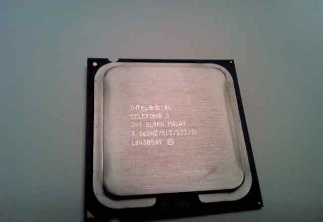 Процессор Intel Celeron D 347 3.06 GHz для пк