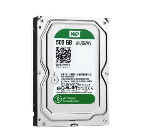 Жесткий диск 500Gb - Western Digital WD5000azrx