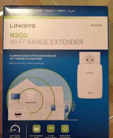 Wi-fi повторитель Linksys N300
