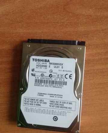 Жесткий диск toshiba на 500gb