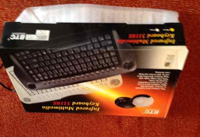 Новая клавиатура BTC5110S с круглой мышью