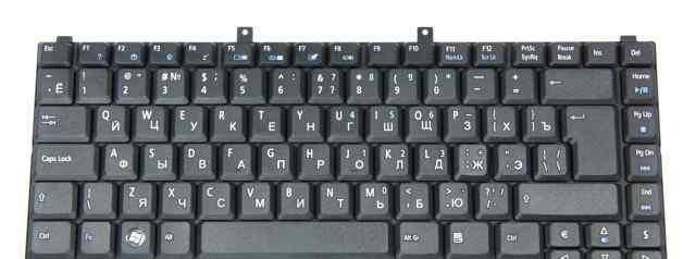 Клавиатура для Acer Aspire RU, Black