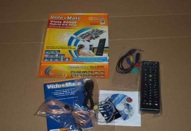 Комплект от Videomate Vista E650 Hybride D/A PCIe
