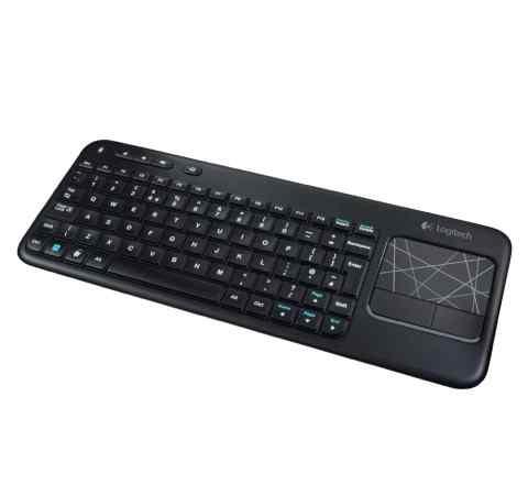Клавиатура беспроводная Logitech K400 Black
