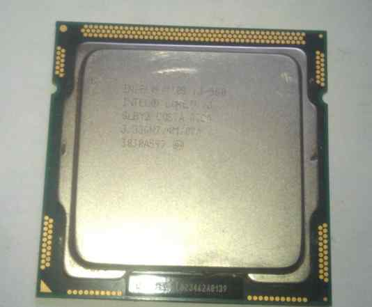 Процессор intel Core i3 560 3.33 GHz LGA 1156
