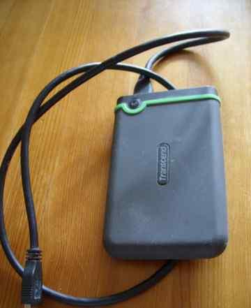 Внешний жесткий диск Transcend TS500GSJ2 500 gb