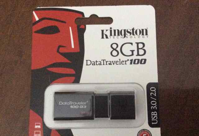 Флешки Kingston DT100G3/8GB