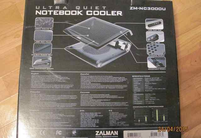 Подставка охладитель для ноутбука zalman