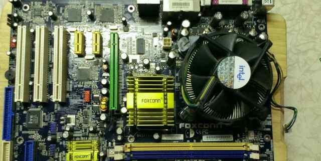 Материнка Foxconn 945P7AA + Процессор Pentium 4