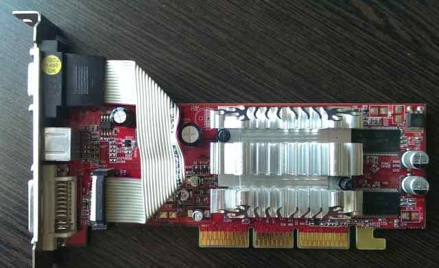 ATI Radeon 9200 SE (AGP, 200MHz, 128Mb gddr)
