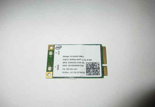 Карта Wi-Fi + WiMax Intel 5150 mini PCI-e 512AGX
