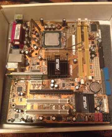 Intel Core2Quad Q9300 2.5Ghz + Материнская плата