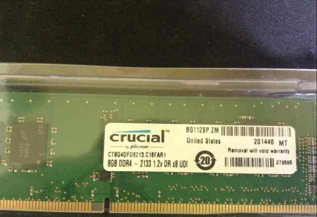 Оперативная память crucial 16 гигабайт ddr4