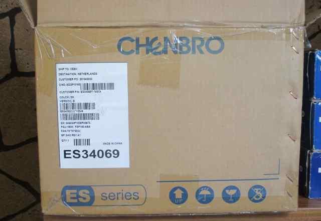 Chenbro ES34069 180W Black/silver