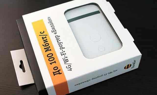 4G Wi-Fi роутер Билайн ZTE MF90 +