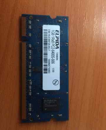 Модуль памяти SO-dimm DDR2 1GB