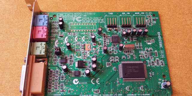 Аудиокарта Creative CT4810 PCI