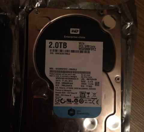 Жесткий диск WD SE WD2000F9YZ, 2Тб, HDD, SATA III