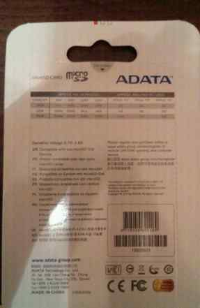 Карта памяти adata на 32 гб с адаптером