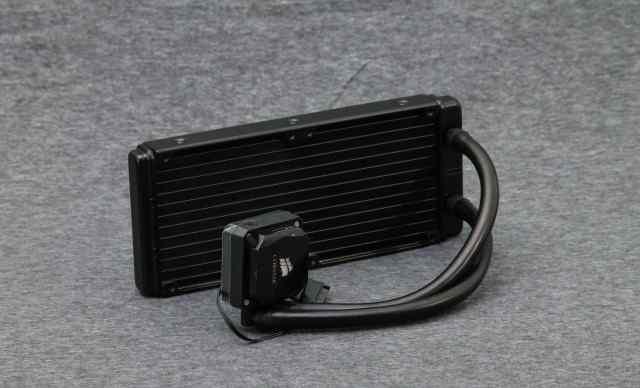 Corsair H100i сво для процессора