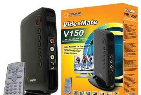 Тв-тюнер Compro VideoMate V150