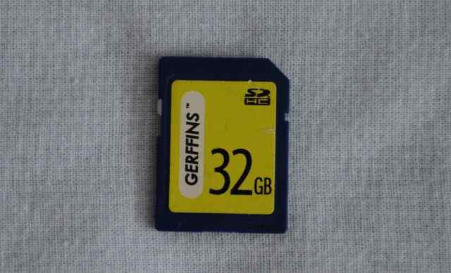 Карта памяти SD Gerffins 32Gb