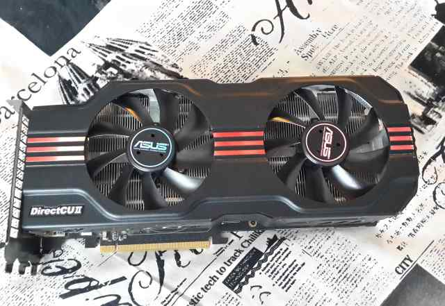 Asus GeForce GTX 570 1280Mb 3800Mhz 320bit