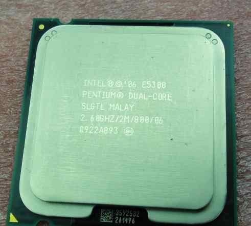 Intel E5300 dual-core 2.6GHZ/2M/800