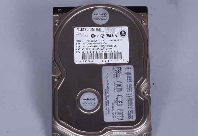 Жесткий диск HDD Fujitsu 13.7 Gb