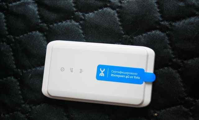 Продаю новый мобильный wi-fi роутер yota