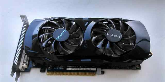 Неисправная Gigabyte GeForce GTX 460